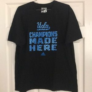 Adidas UCLA Champions Made Here tee t-shirt 2XL